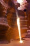 Obere Antilopen-Schlucht in der Seite, Arizona, USA Lizenzfreie Stockfotos