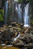Obere Nauyaca-Wasserfälle Stockbilder