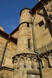 Obere Pfarre church in Bamberg, Germany Royalty Free Stock Photos