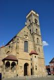 Obere Pfarre kościół w Bamberg, Niemcy Zdjęcie Royalty Free