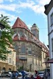 Obere Pfarre kościół w Bamberg, Niemcy Fotografia Stock
