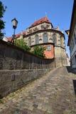 Obere Pfarre kościół w Bamberg, Niemcy Zdjęcie Stock