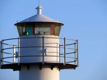 Obere Teile eines Leuchtturmes Lizenzfreies Stockfoto
