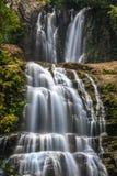 Obere und unterere Nauyaca-Wasserfälle Lizenzfreie Stockbilder