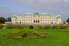 Oberer Belvedere-Palast Lizenzfreies Stockbild