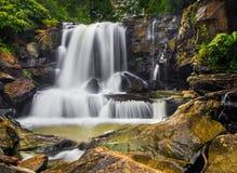 Oberer Laurel Creek Falls Lizenzfreie Stockfotos