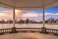 Oberer Onondaga-Park stockfoto