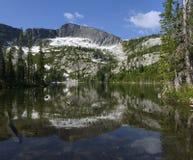 Oberer Roman Nose Lake Lizenzfreies Stockfoto