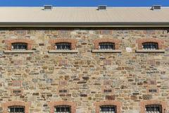 Oberer Seitenteil des Neubaus, Adelaide Gaol Lizenzfreie Stockbilder