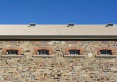 Oberer Seitenteil des Neubaus, Adelaide Gaol Stockfotografie