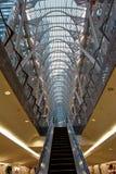 Oberer und untererer Galleria Stockbild