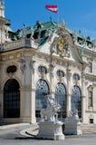 Oberes Belvedere-Schloss in Wien Lizenzfreie Stockfotografie