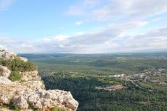 Oberes Galiläa, Israel Stockbild