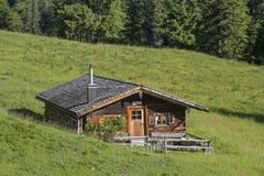 Oberes Orterer Alm südlich Benediktenwand Lizenzfreies Stockfoto