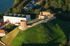 Oberes Schloss in Vilnius, Litauen Stockfotografie
