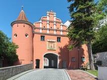Oberes Tor Upper Gate dans Neuburg un der Donau, Allemagne images libres de droits