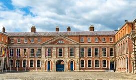 Oberes Yard von Dublin Castle Stockfoto