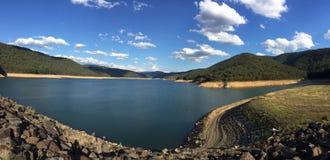 Oberes Yarra-Reservoir Stockbilder