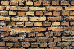 Oberfläche der alten Backsteinmauer Lizenzfreie Stockfotografie