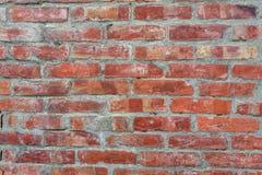 Oberfläche der alten Backsteinmauer, Beschaffenheitshintergrundtapete stockfoto