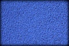 Oberfläche der blauen Gummiswimmingpoolmatte Stockbild