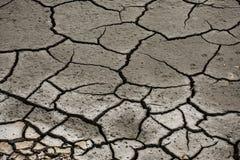 Oberfläche der gebrochenen Erde Stockbilder