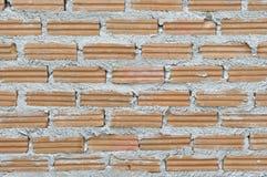 Oberfläche der roten Backsteinmauer Lizenzfreies Stockbild