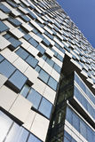 Oberfläche des neuen Bürogebäudes, Peking, China Stockbild