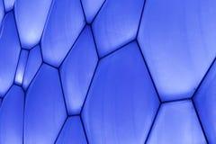 Oberfläche des olympischen Wasser-Würfels Pekings, China Lizenzfreie Stockbilder