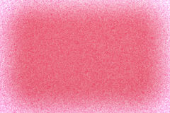 Oberfläche des rosa Schwammes Stockfotos