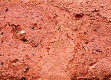 Oberfläche des roten Backsteins Lizenzfreie Stockfotos