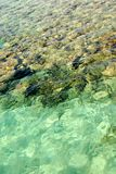 Oberfläche des Roten Meers Stockbild
