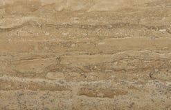 Oberfläche des Travertins. Stockbilder