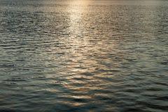 Oberfläche des Wassers Stockbild