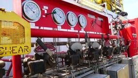 Oberflächen-BOP Steuerung Akkumulator-Einheit Koomey stock video footage