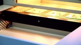 Oberflächenbergtechnologie SMT stock video