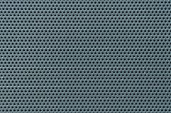 Oberflächenbeschaffenheit der perforierten Blechtafel, Makro lizenzfreies stockbild