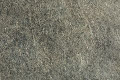 Oberflächenbeschaffenheit des alten verkratzten schwarzen Metalls, Abstraktionshintergrund Stockfoto