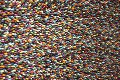 Oberflächenteppich viele Farben Stockbilder