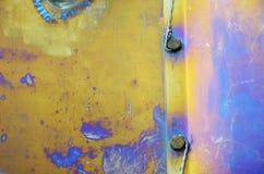 Oberfläche des Flugzeuge fusalage Lizenzfreie Stockbilder
