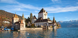 Oberhofen castle Royalty Free Stock Photos