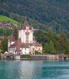 Oberhofen castle Stock Image