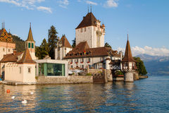 Oberhofen Castle stock photography