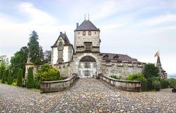 Oberhofen Castle, Schloss Oberhofen. Royalty Free Stock Image