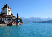 Oberhofen castle, Switzerland Royalty Free Stock Photo