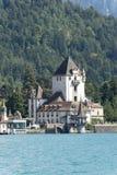 Oberhofen Castle, Switzerland Royalty Free Stock Photo