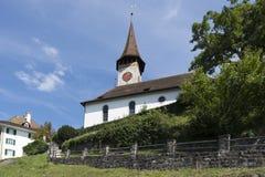 Oberhofen, Switzerland stock image
