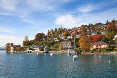 Oberhofen village Stock Photography