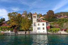Oberhofen village Royalty Free Stock Image