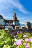 Oberhofen walls Royalty Free Stock Photos